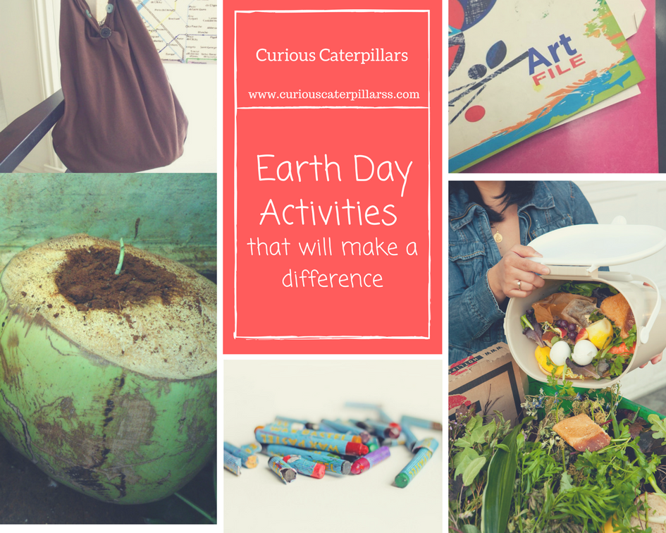 Earth Day Activities that make a Difference
