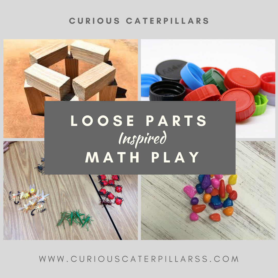 loose parts math play