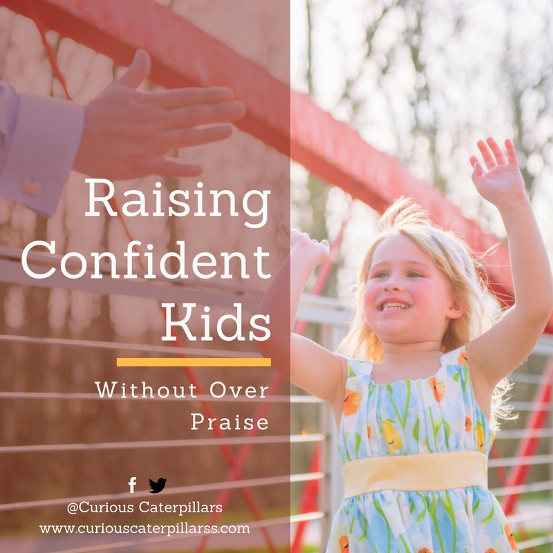 confident kid without over praise