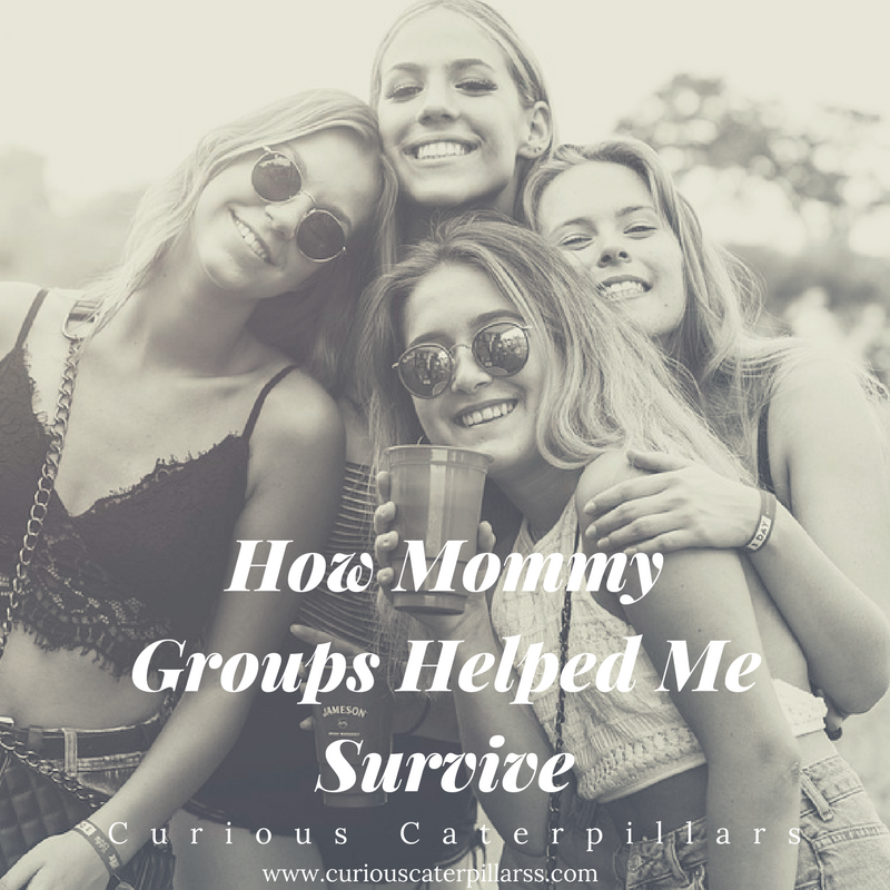 mommy groups help survive