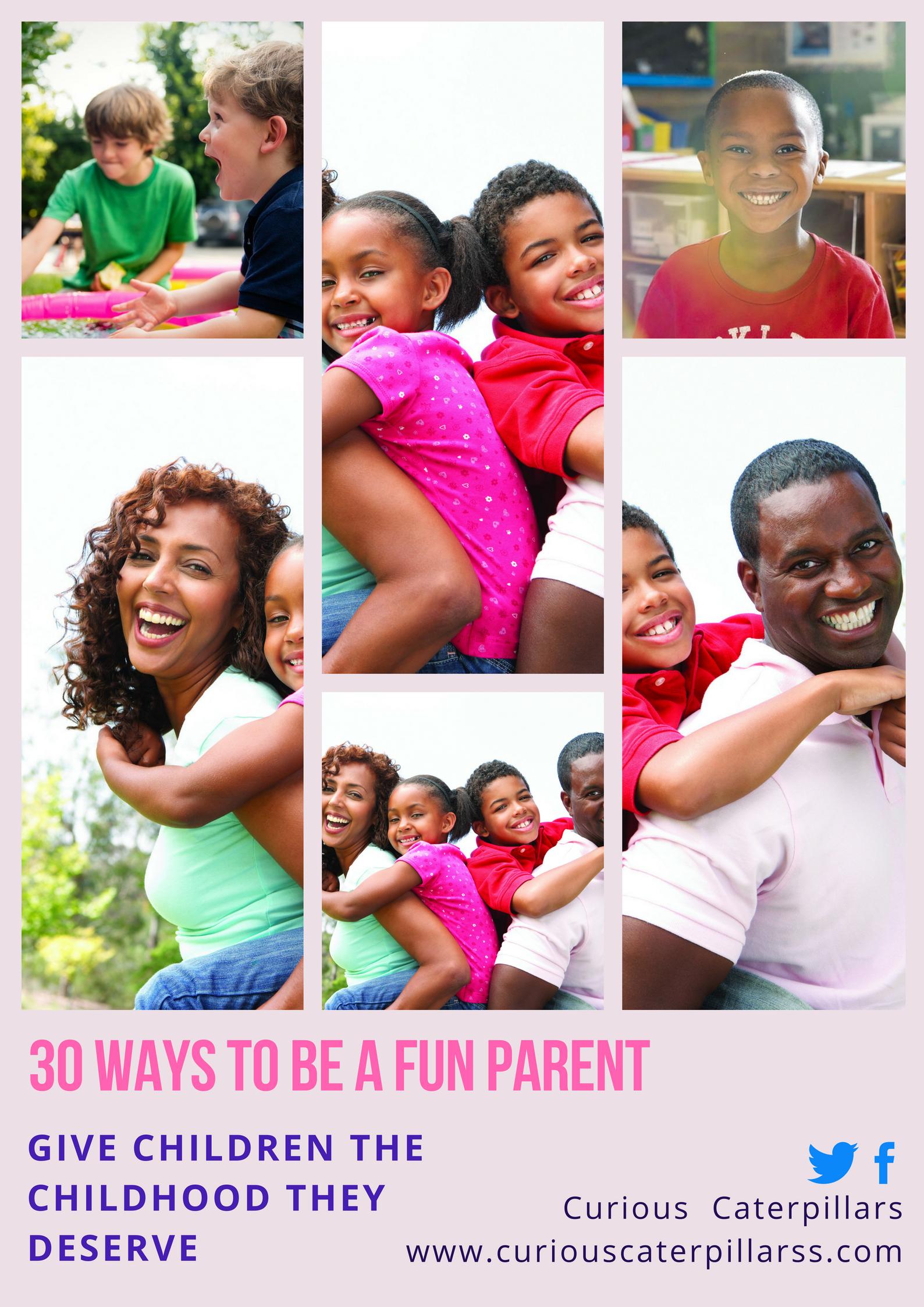 fun playful parents