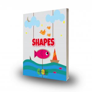 Shapes STEM Book for kids