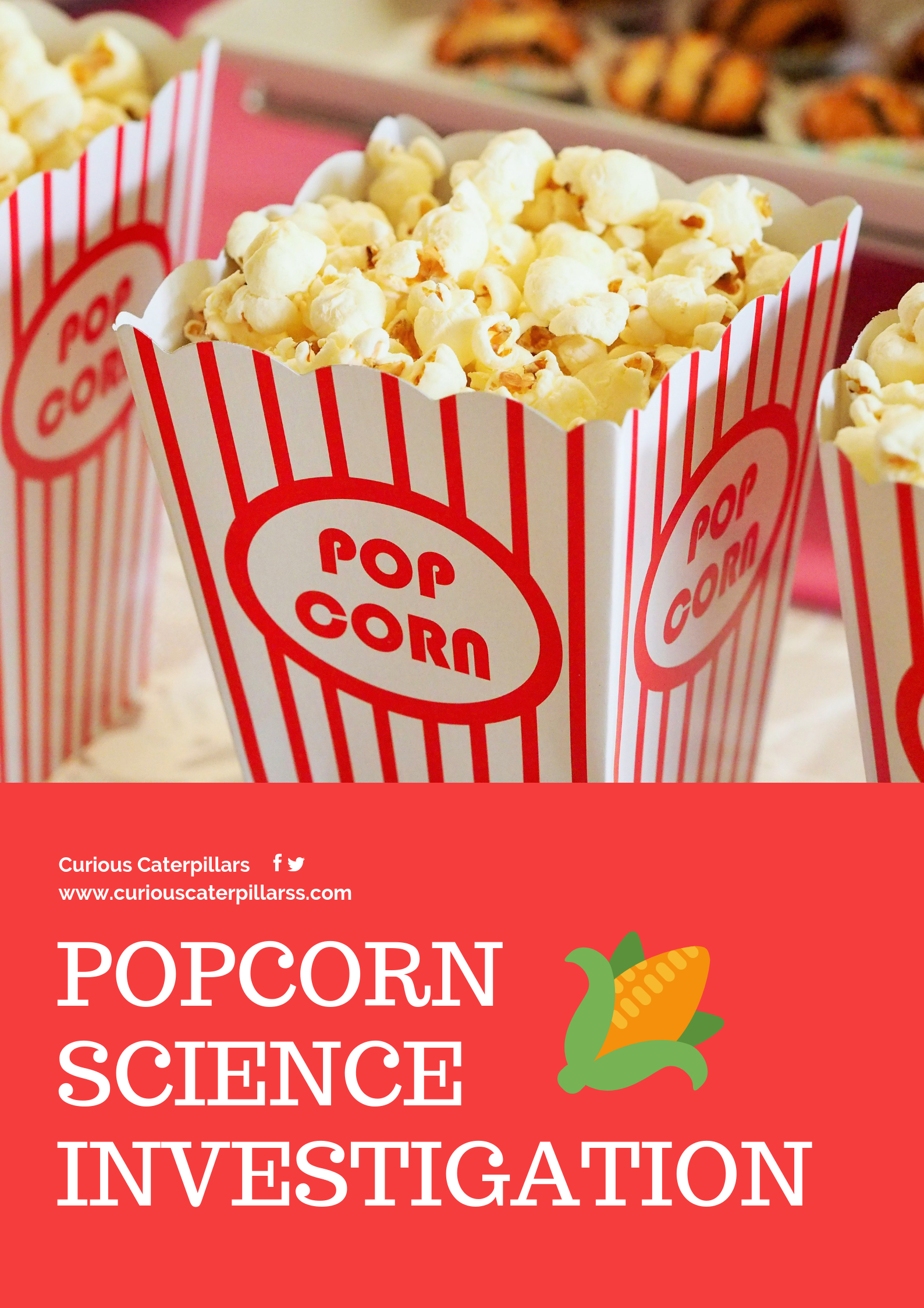 Popcorn STEM for kids