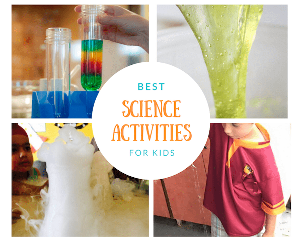 best science activities for kids
