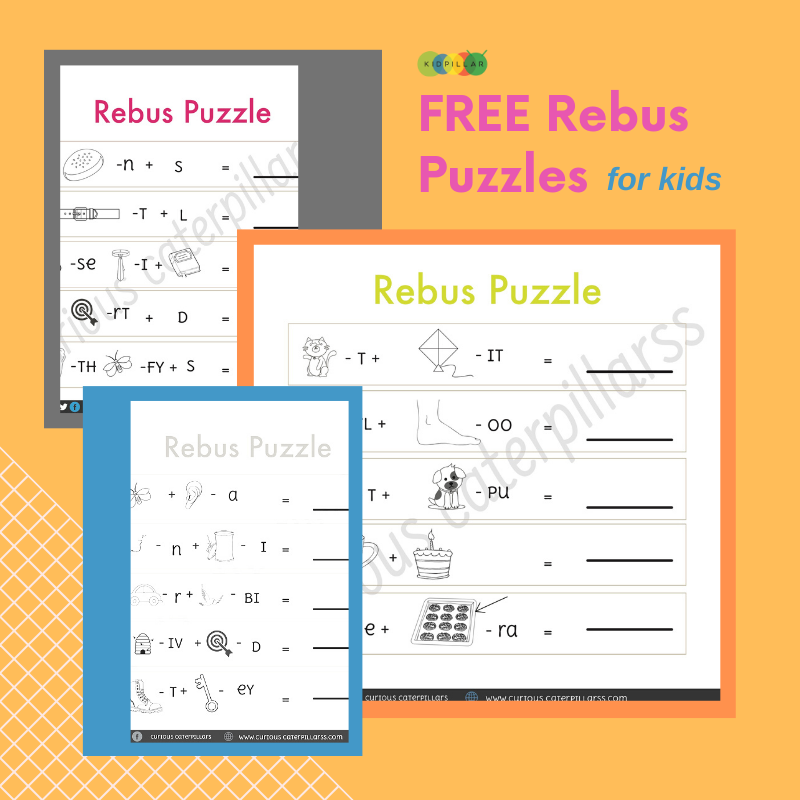 Word puzzles for kids