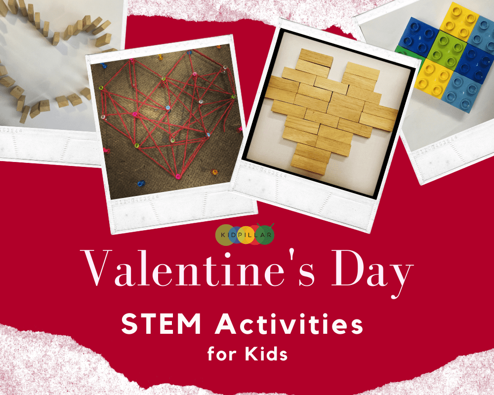 Valentine STEM Activities for kids