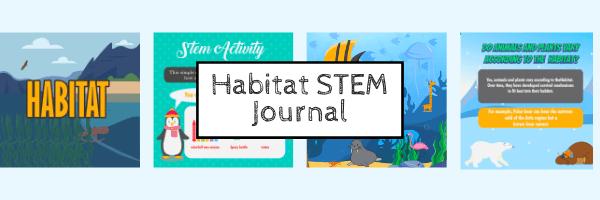 Kidpillar Habitat STEM book
