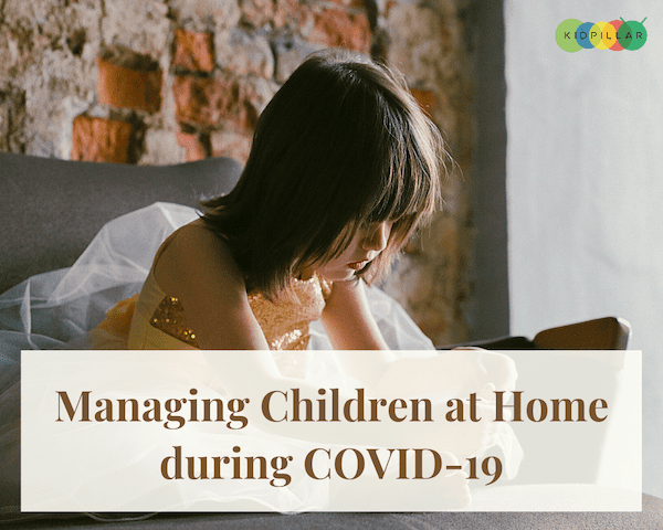 children at home during Covid