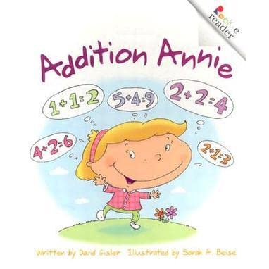 Addition Math Books for kids