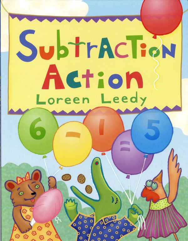 subtraction books for kids