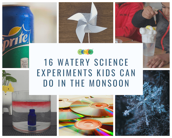 water experiments for kids