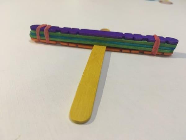 DIY catapult for kids