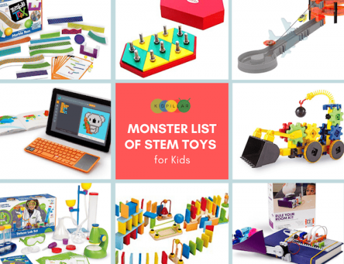 Monster List of STEM Toys for Kids