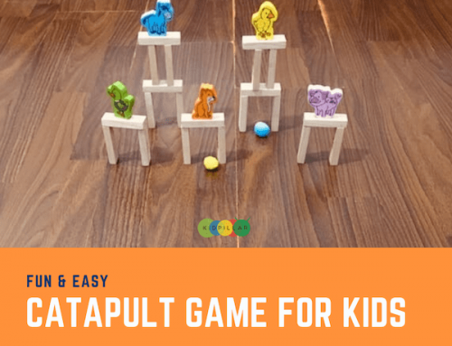 Fun & Easy Catapult Target Game for Kids