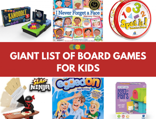 The Giant List of Board Games for Kids