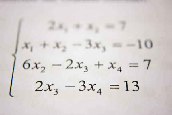 Math skills for kids