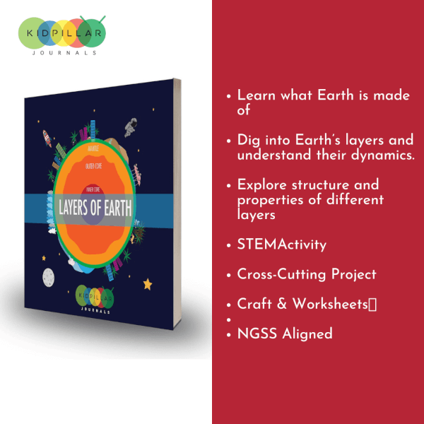 layers of earth for kids