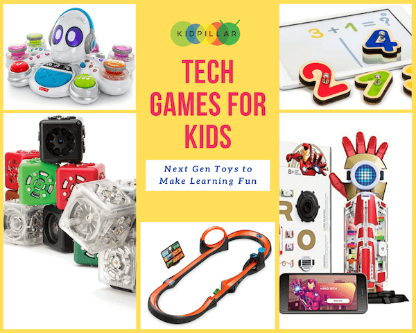 tech games for kids