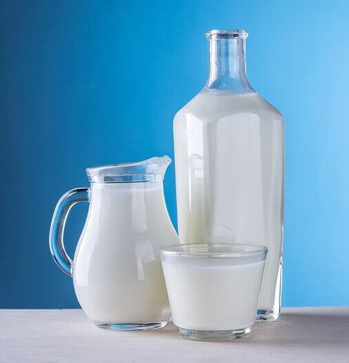 Purpose of milk in baking