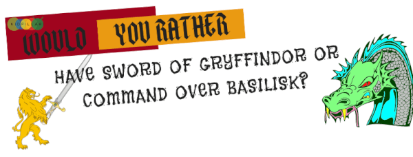 Harry Potter Would You Rather Questions